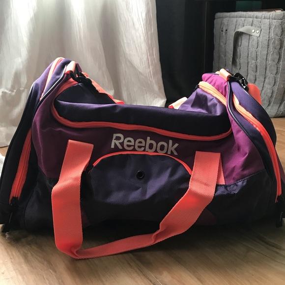 Reebok Gym Bag! Pink + Purple MOVING SALE. M 5af9b6f3077b9788cedb1a2d 2c603c767813e